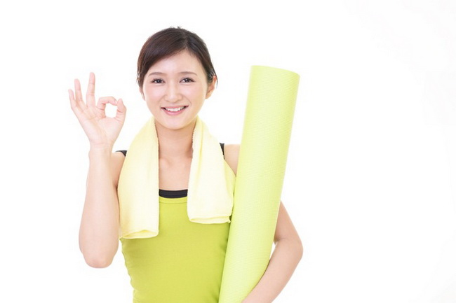 Биодобавки для похудения из Японии (клипарт с женщиной)